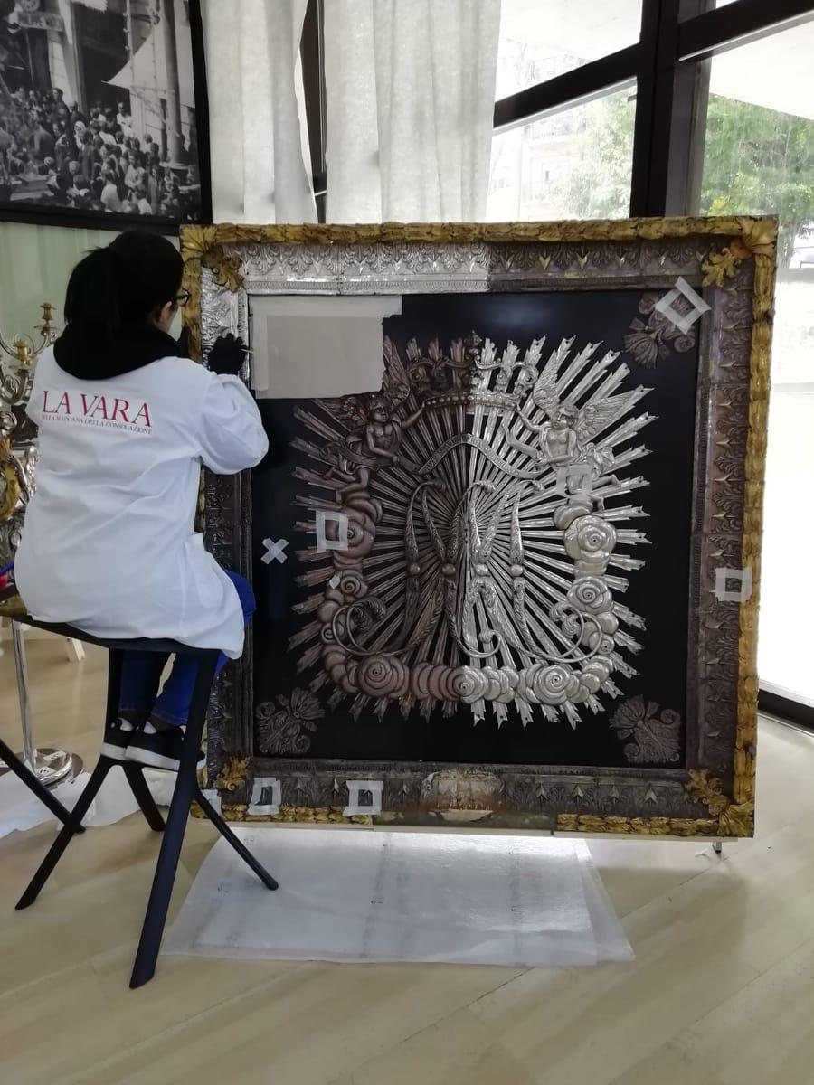 Reggio, al via il restauro aperto della Vara dopo le indagini