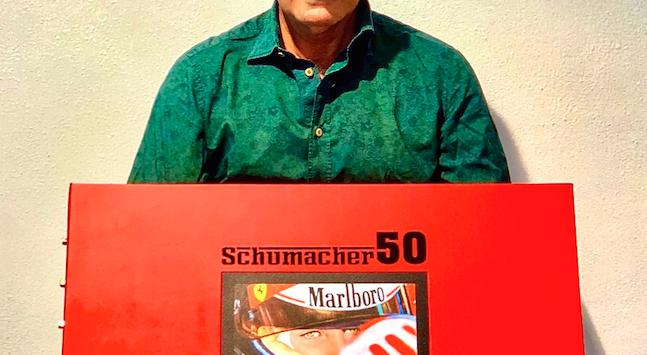 Filippo Di Mario racconta Schumacher: dal Motorshow 2Mari a Maranello