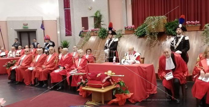 Inaugurazione anno giudiziario, Gerardis: «'Ndrangheta e grumi di potere inquinano le istituzioni»