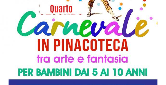 """Pinacoteca civica: """"È Carnevale, metti in scena l'arte"""""""