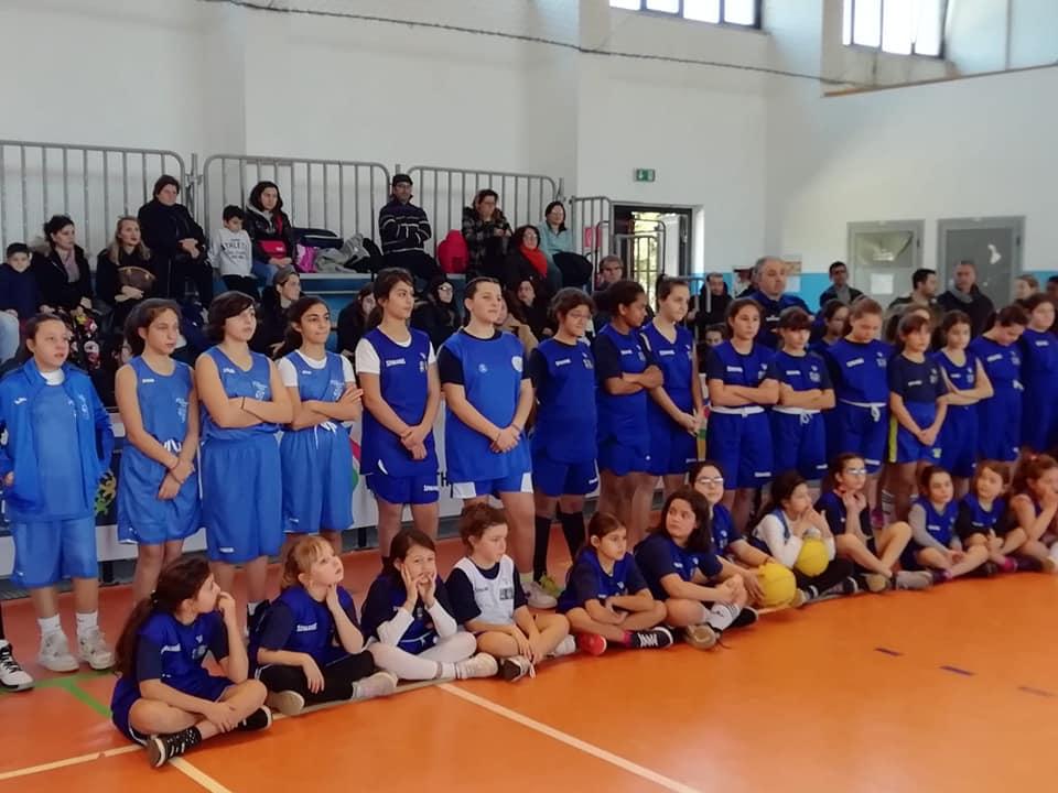 """Minibasket, festa in """"rosa"""" a Siderno con i centri Fiba"""