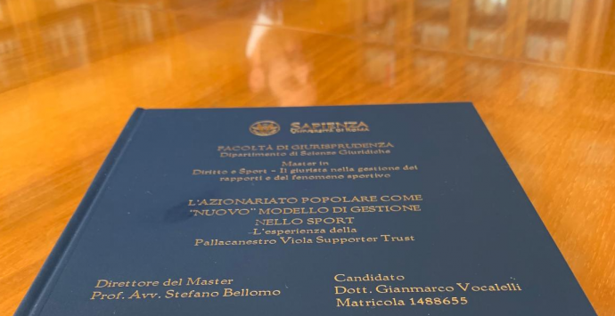 """Alla """"Sapienza"""" una tesi sull'esperienza della Viola"""