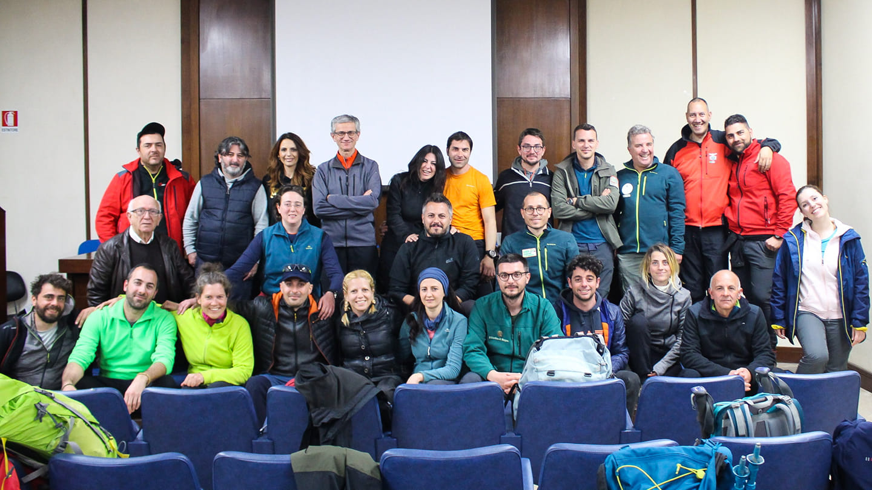 Concluso il corso: ecco le nuove guide ambientali escursionistiche