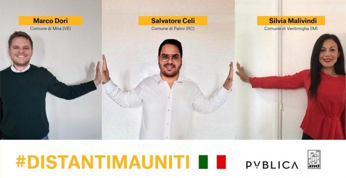Palmi, il Comune aderisce alla campagna #DistantiMaUniti