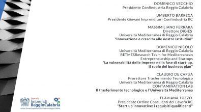 """""""Sportello ImprendiReggioCalabria 2020"""", giovedì la presentazione"""