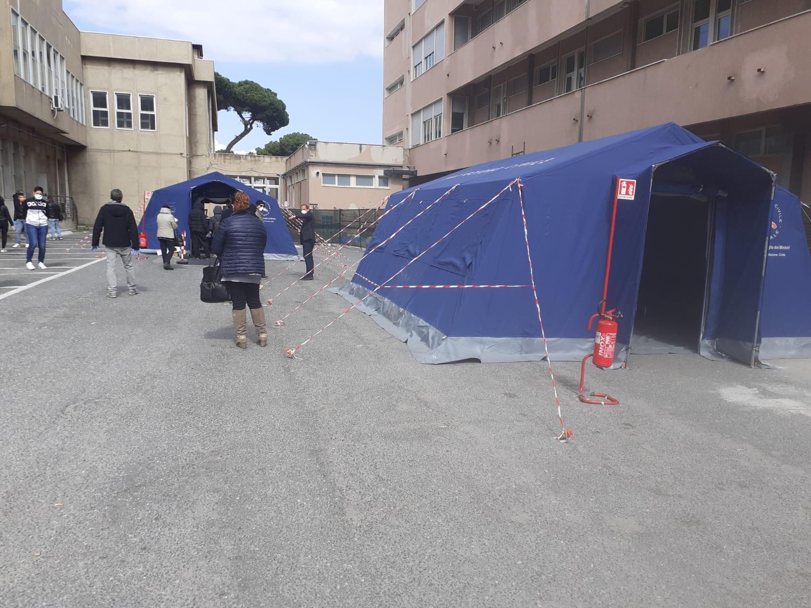 Coronavirus a Reggio, Agape: «Accogliere le richieste del Gom per uscire dalla zona rossa»