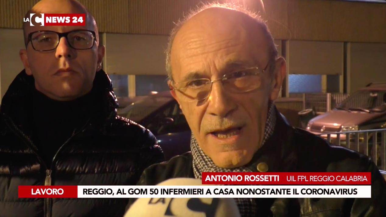 Coronavirus a Reggio, l'appello della Uil: «Senza infermieri non si può gestire l'emergenza»