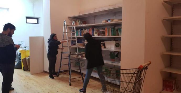 Scilla, biblioteca comunale: sospese le operazioni di allestimento