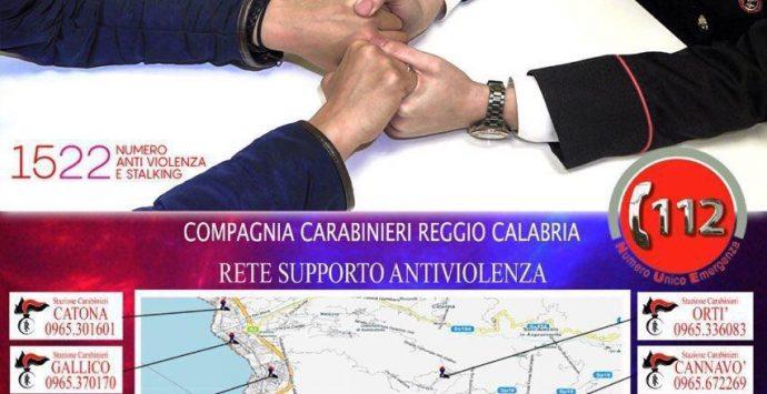 """""""Codice rosso"""", Carabinieri impegnati a tutela delle fasce deboli"""