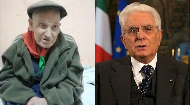 Il presidente Mattarella e il partigiano Malerba: il futuro ha un cuore antico