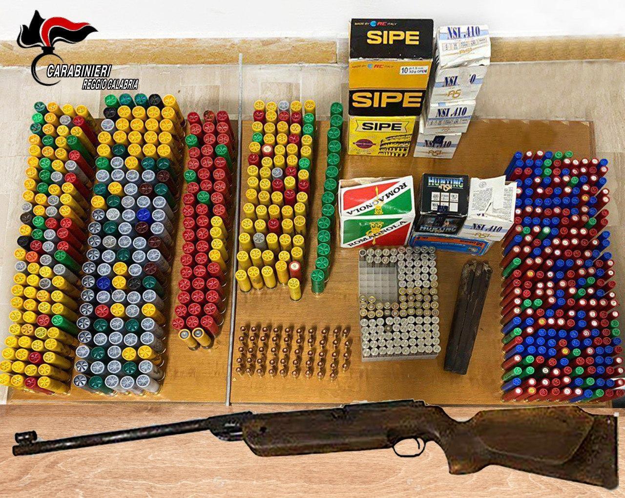 Caulonia marina, trovato deposito di munizioni in un casolare abbandonato
