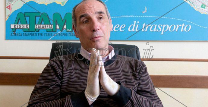 """Coronavirus a Reggio Calabria, Perrelli: «Atam pronta per la """"Fase 2""""»"""
