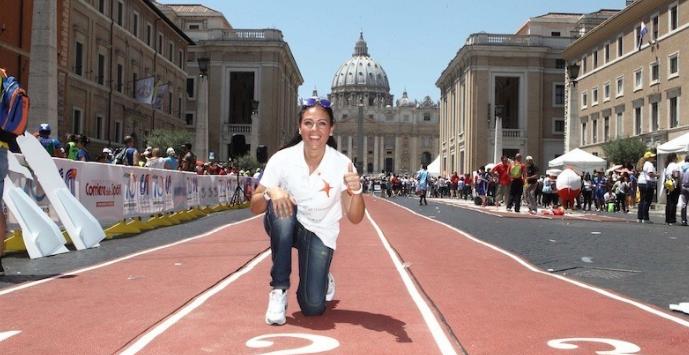 Giornata mondiale dello sport, Giusy Versace: «Viviamola all'insegna dello spirito di squadra»