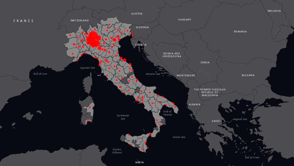 Reggio Calabria Cartina Geografica.Coronavirus A Reggio Calabria La Mappa Dei Contagiati Comune Per Comune Il Reggino