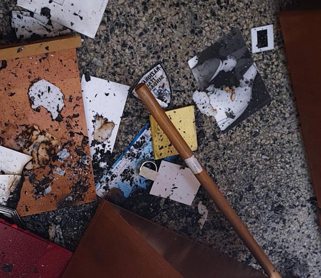 Reggio, devastata la sede della fondazione Falcomatà. Il sindaco denuncia e si commuove