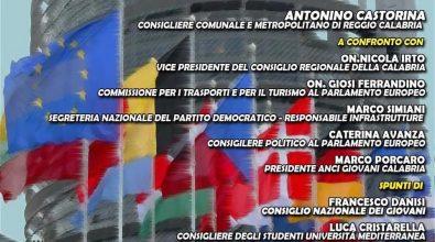 Reggio in Europa, virtual meeting di Anci giovani su turismo, infrastrutture e futuro