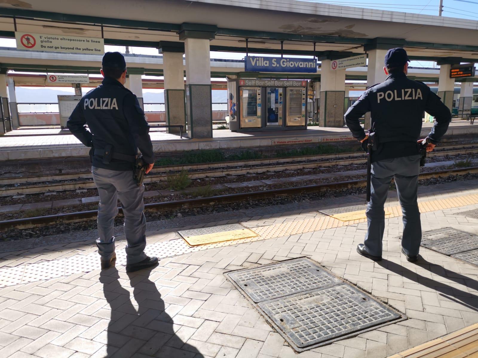 Rosarno, la polizia ferroviaria sequestra un chilo di eroina vicino alla stazione