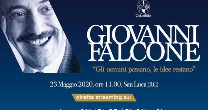 La Calabria ricorda a San Luca il sacrificio di Falcone: la diretta su LaC News24