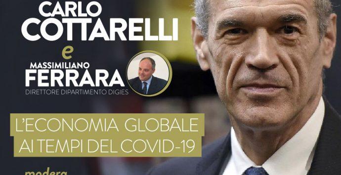 Coronavirus, gli studenti del Digies dialogheranno online con Cottarelli