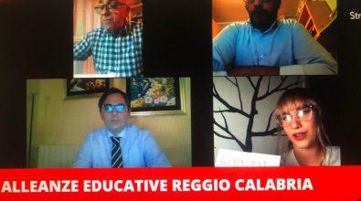 Alleanze educative Reggio Calabria, secondo live meeting. Fare rete è un'alternativa alle mafie