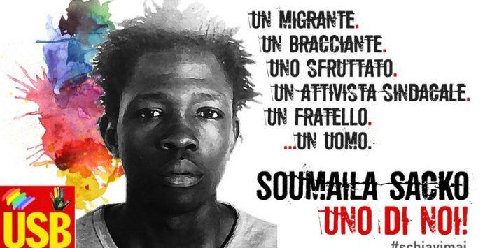 Due anni fa l'omicidio di Soumaila Sacko. Il 2 giugno la commemorazione USB a San Calogero