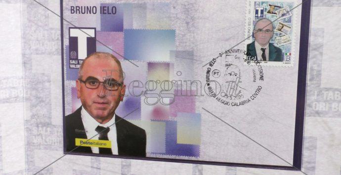 Poste italiane, il francobollo dedicato a Bruno Ielo: tabaccaio che non si è piegato alla 'ndrangheta