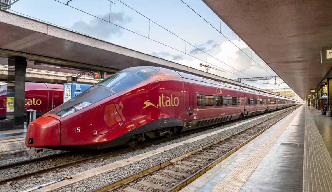 Italo, treni straordinari da Roma e Milano per Reggio Calabria