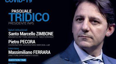 Coronavirus a Reggio Calabria, New deal lab: webinar con Tridico sulle politiche socio-economiche