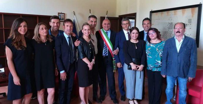 Locri, il saluto ed il ringraziamento del sindaco Calabrese a Sainato
