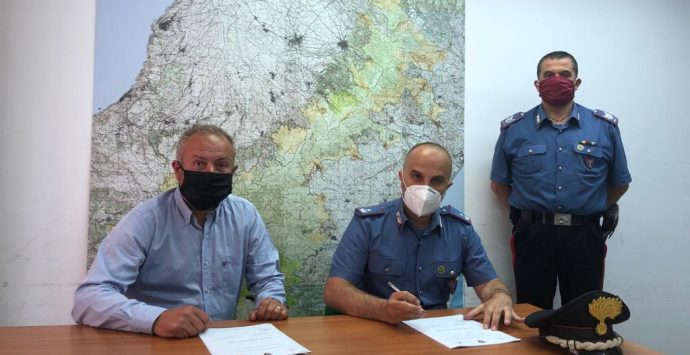 Parco d'Aspromonte, firmato un piano di prevenzione con i carabinieri