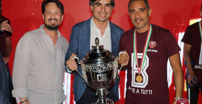 Reggina, cittadinanza onoraria per il presidente Luca Gallo