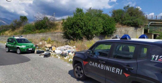 Casignana, rifiuti abbandonati in un terreno privato. Fioccano le multe