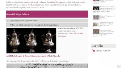 """Reggio Calabria, Archivio storico diocesano e Museo diocesano nel progetto """"La Memoria ritrovata"""""""