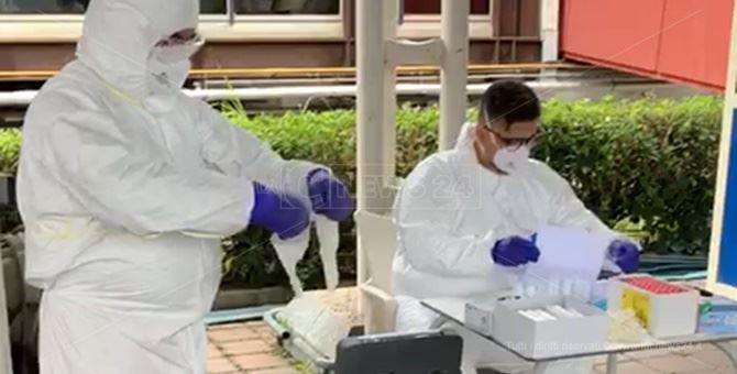 Coronavirus, tamponi a tappeto per tutti gli abitanti di Messignadi