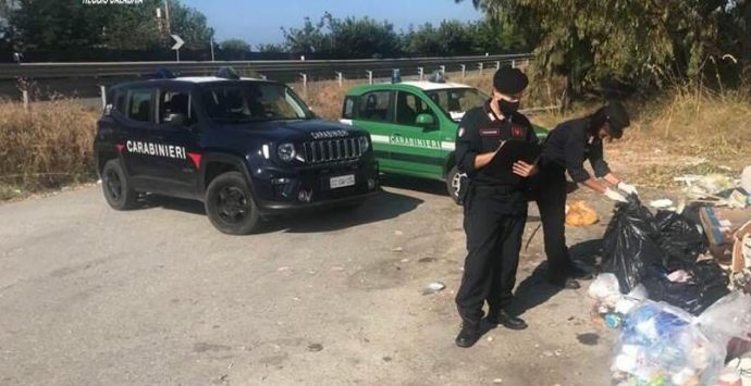 Reggio Calabria, i carabinieri scoprono tre discariche abusive di rifiuti a Palizzi