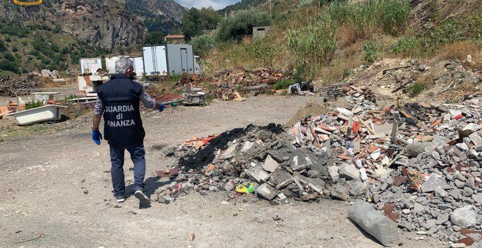 Messina, sequestrate due discariche abusive a Letojanni e Pagliara