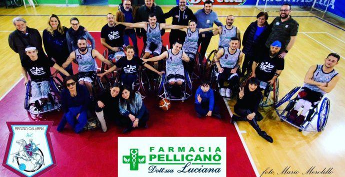 Basket in carrozzina, Farmacia Pellicanò è l'unica squadra candidabile alla massima serie