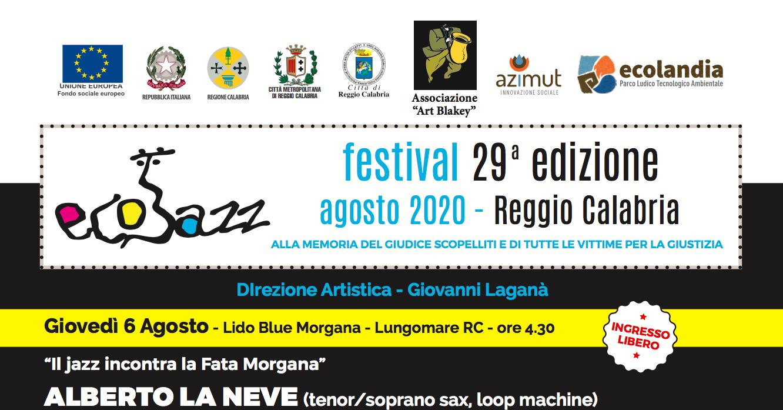 Al via la 29esima edizione di EcoJazz festival ad Ecolandia. Ecco il programma