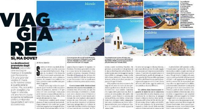 Turismo, la Calabria sale in vetta tra le mete preferite insieme al Salento