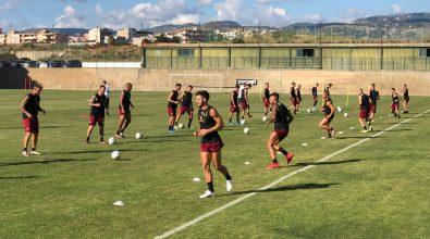 Calcio, Reggina primo giorno d'allenamento al centro sportivo Sant'Agata
