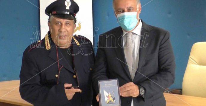 """Reggio Calabria, il """"Catarella"""" del Commissario Montalbano ospite della Questura"""