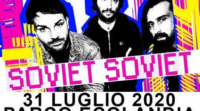 Reggio Calabria, Derive festival: i Soviet Soviet il 31 luglio ad Ecolandia