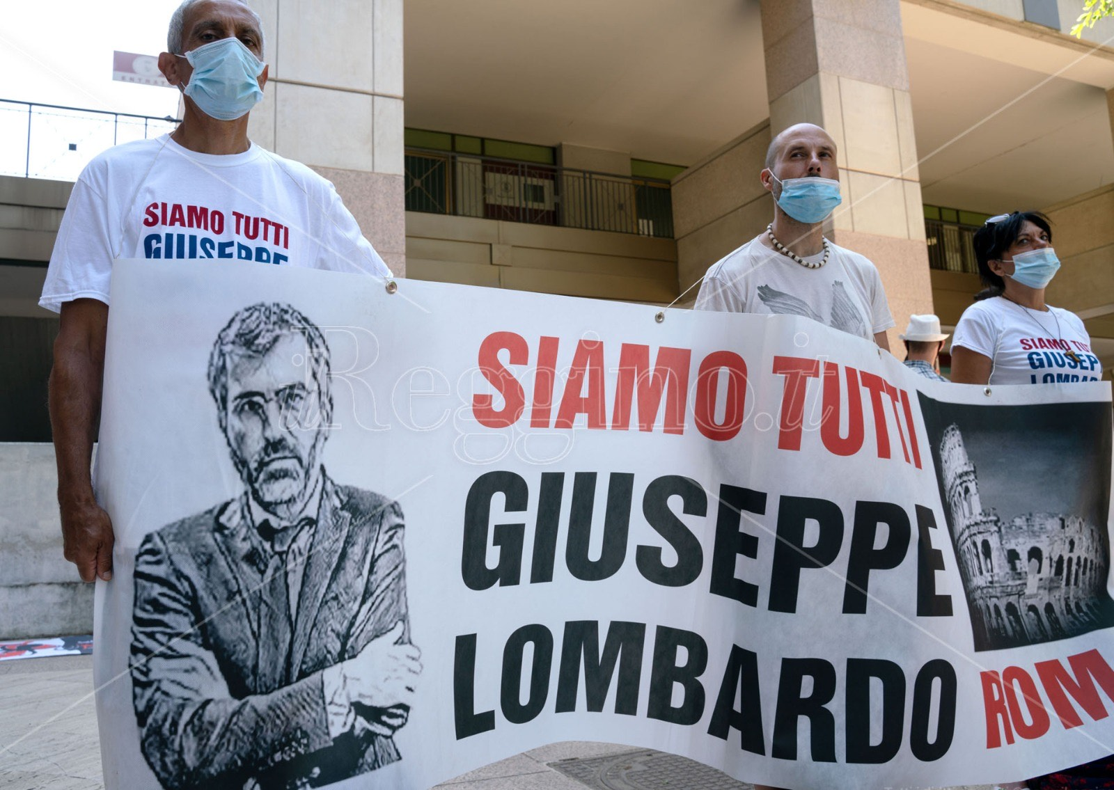 'Ndrangheta stragista, in centinaia in piazza per sostenere il pm Lombardo