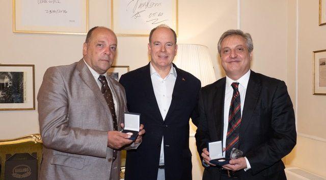 Il sindaco di Cittanova alla cena ufficiale con il Principe Alberto II di Monaco a Rimini