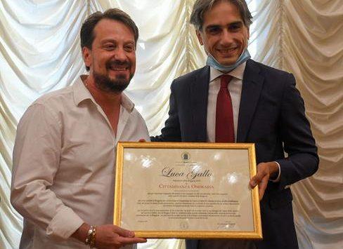 Reggio Calabria, Falcomatà conferisce la cittadinanza onoraria al presidente della Reggina Gallo