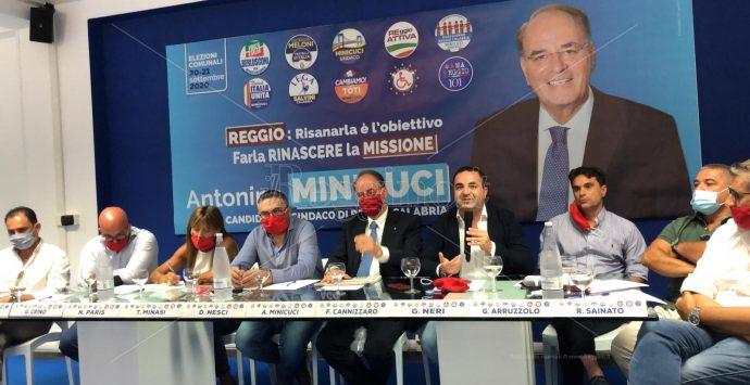 Elezioni, Minicuci: «Voglio una Reggio Calabria pulita e con l'acqua nelle abitazioni»