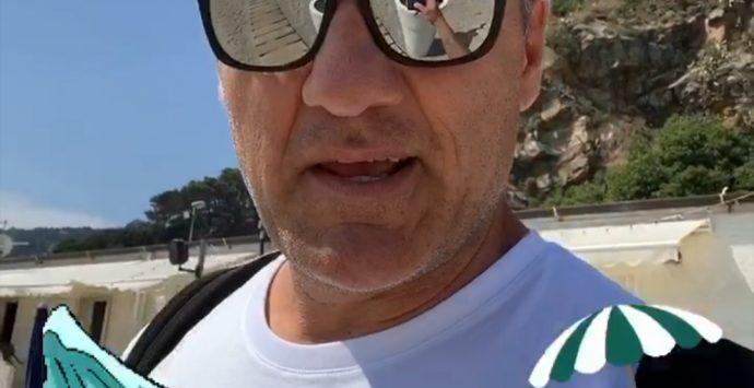 Bobo Vieri in vacanza a Palmi: «Mare spettacolare: voto 10»