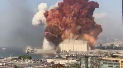 Terribile esplosione a Beirut, almeno 10 morti. Feriti due militari italiani