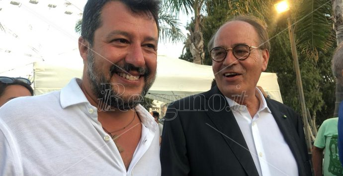 Elezioni a Reggio Calabria, Salvini: «Impossibile che Falcomatà possa vincere»