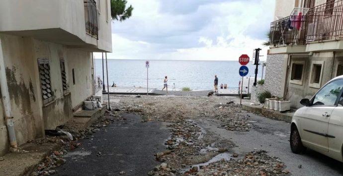 Maltempo a Reggio Calabria, bomba d'acqua a Scilla